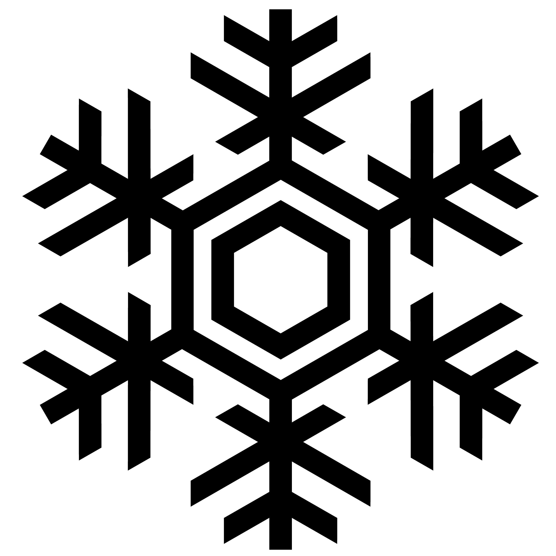 2480x2480 Snowflake Vector Art Free Download Clip Art