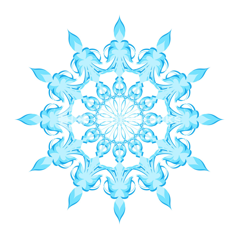 1000x1000 Snowflake Vector Art Royalty Free Stock Image