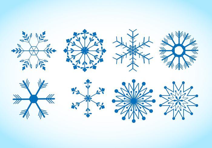 700x490 Snowflake Vectors