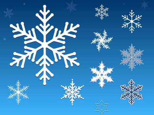 494x368 Snowflake Vector Art Free Vector Download (217,048 Free Vector