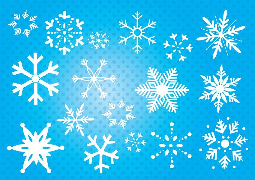 850x600 Snowflakes Vector Art Amp Graphics