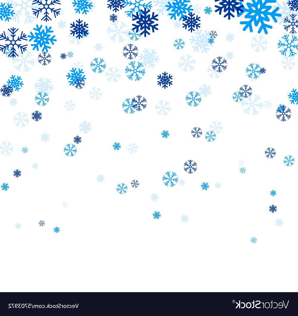1000x1060 Best Falling Snowflake Vector Design Free Vector Art, Images