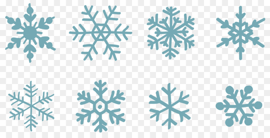 900x460 Clipart Snowflake Vector