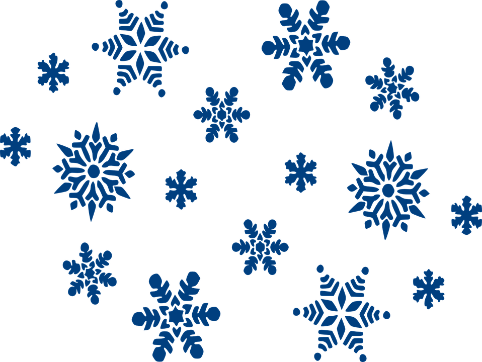 958x720 Collection Of Free Snowflakes Vector Swirl. Download On Ubisafe