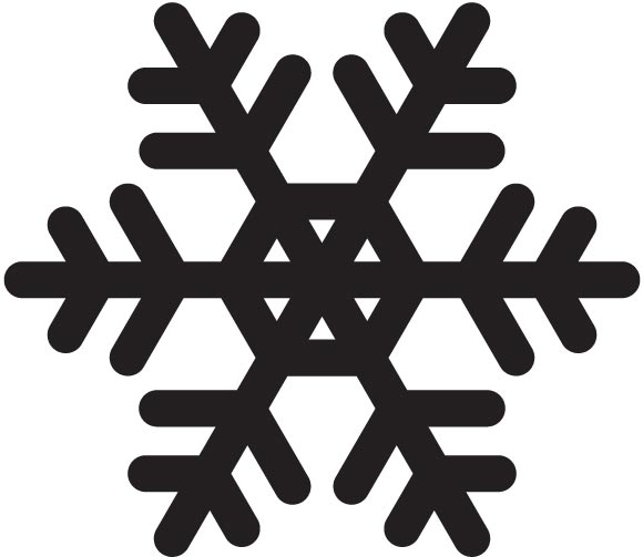 580x503 Falling Snowflakes Free Stock Vector Set No Cost Royalty Free Stock