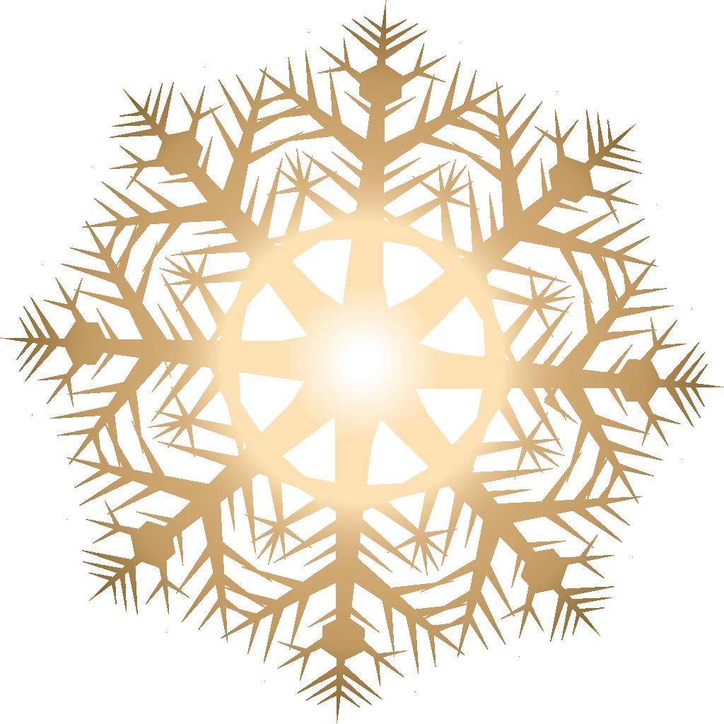 1024x1024 Light Snowflake