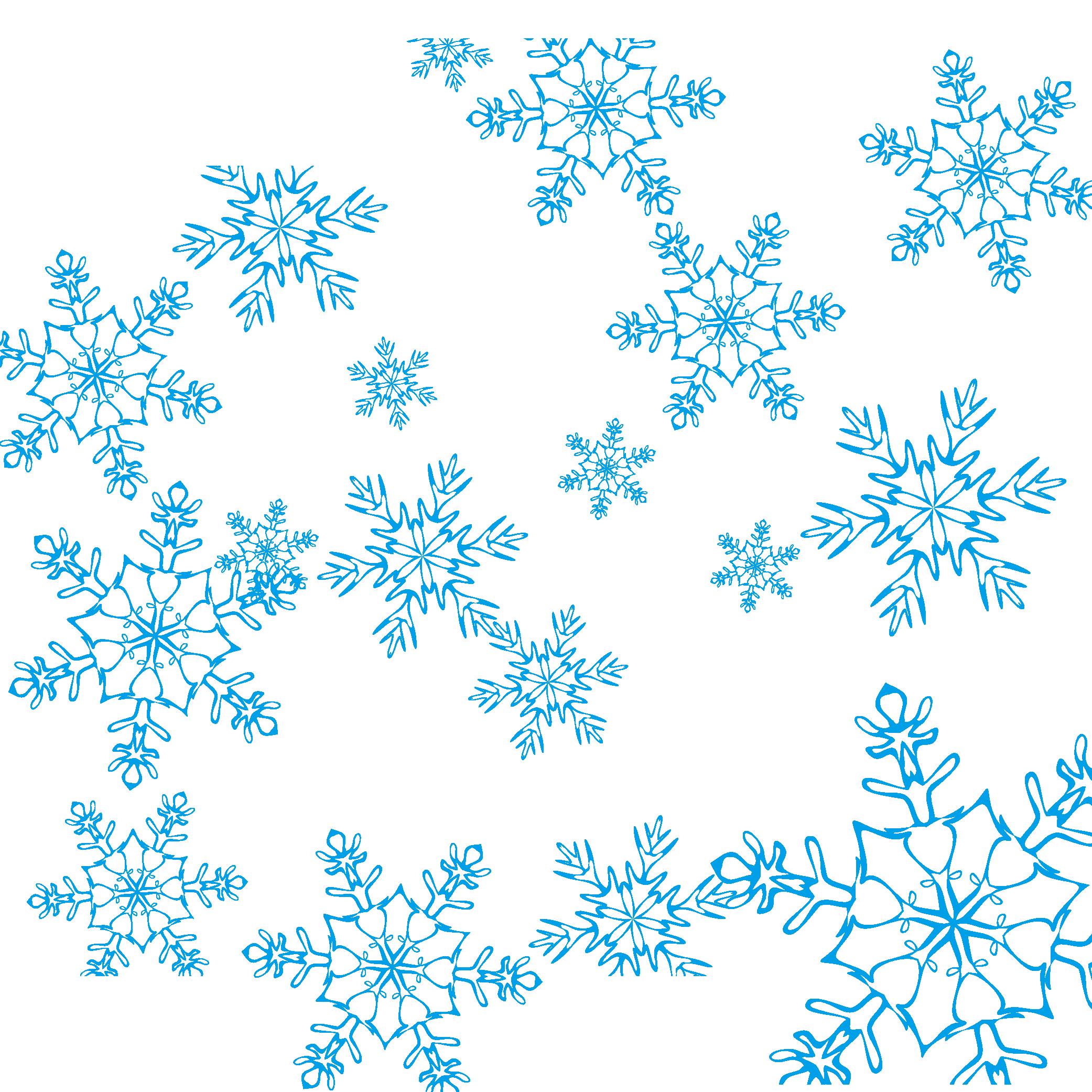 2083x2083 Snowflake Blue