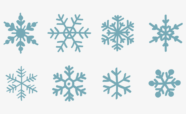 650x400 Snowflake Vector, Snow, Snowflake, Winter Png And Vector For Free