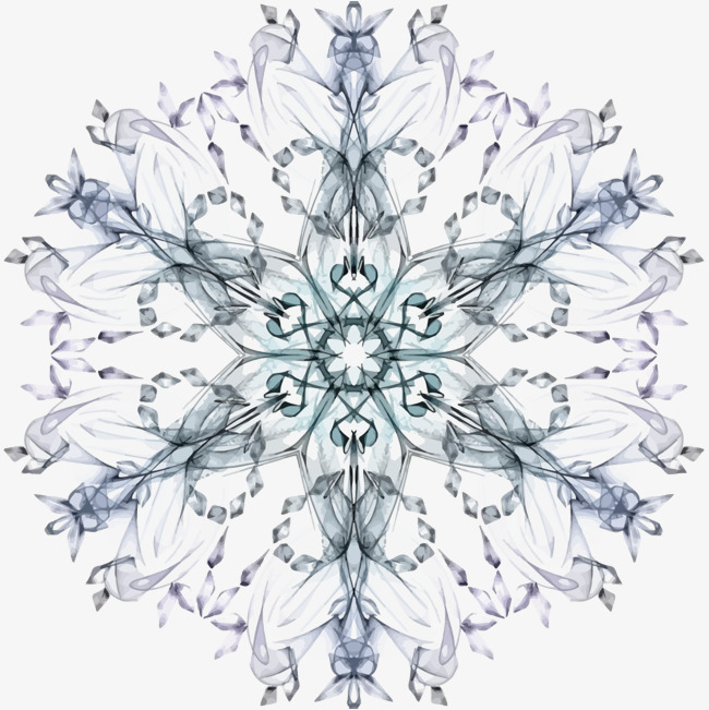 650x651 Snowflake Vector, Snowflake, Decorative Pattern Png And Vector For