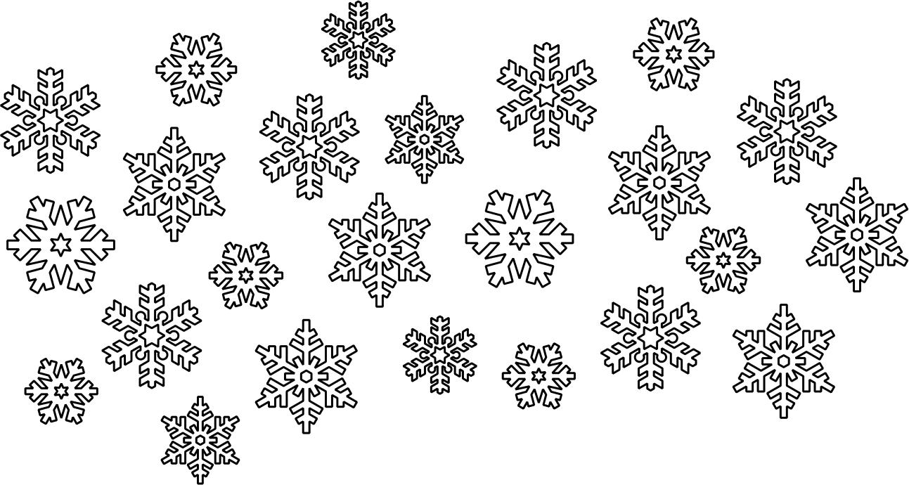1293x690 Snowflake Vectors Free Vector Download