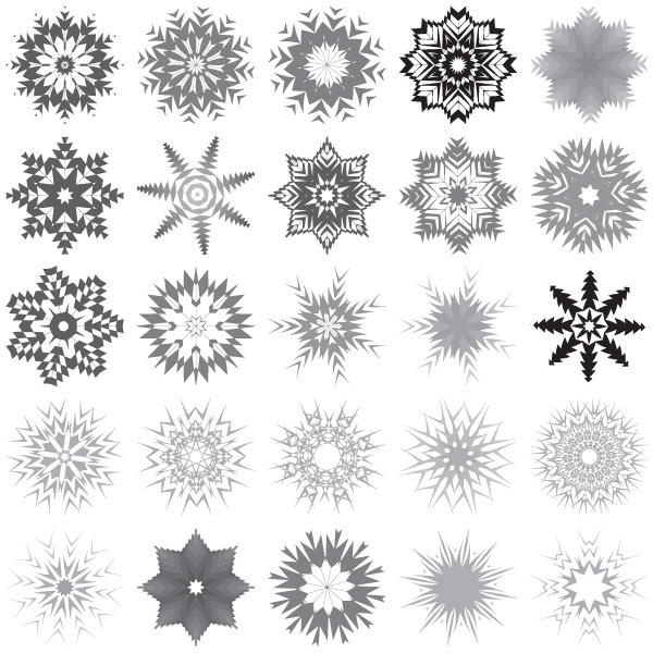 600x600 Collection Of Snowflake Clipart Free Download High Quality