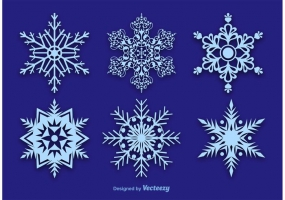 285x200 Vector Snowflakes Free Vector Graphic Art Free Download (Found