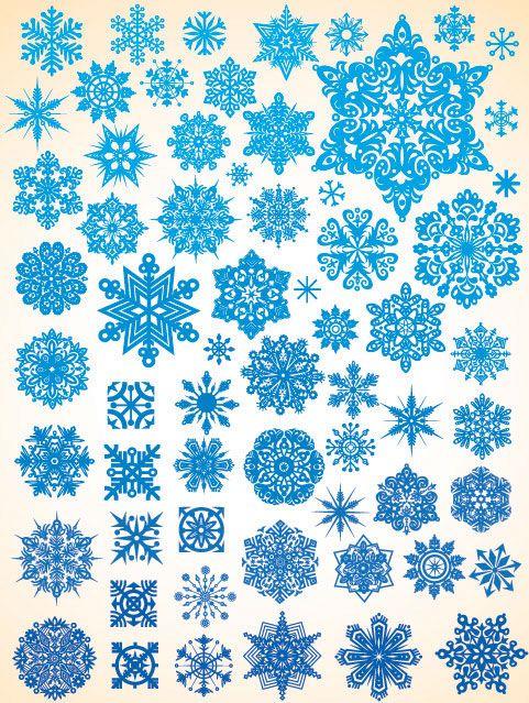 481x639 Snowflake Vector Material 1 Download Free Vector Snow Flake