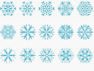 300x229 Snowflakes Vector Free Download Snowflake Vectors Free Vector In