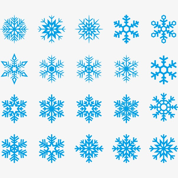 603x603 Blue Snowflake Vector, Blue Vector, Snowflake Vector, Blue Png And