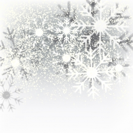 268x268 Christmas Background With Snowflakes Vectors Stock For Free