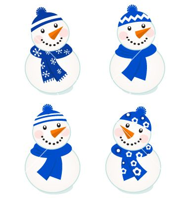 380x400 Resultado De Imagen De Snowman Vector Drawing Merry