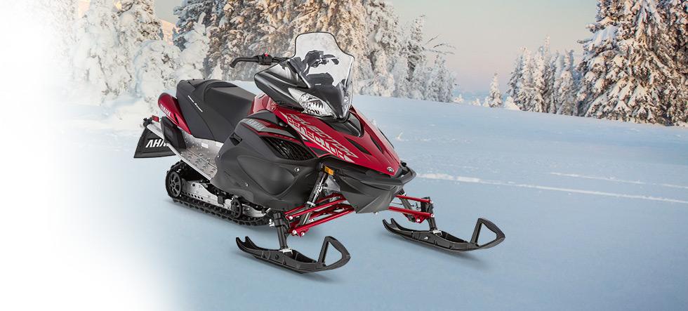 980x443 2016 Yamaha Rs Vector Le Trail Snowmobile