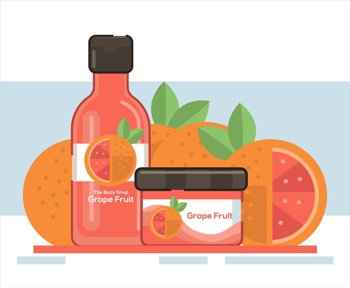 1136x936 Grapefruit Soap Vector Vector Art Amp Graphics