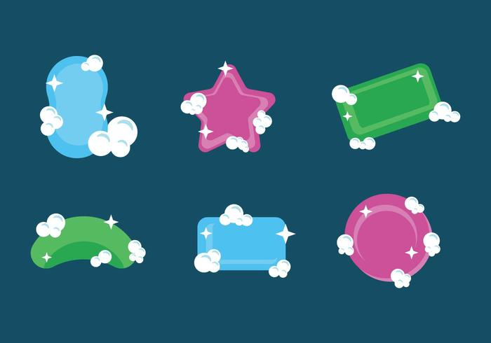 700x490 Soap Suds Vector