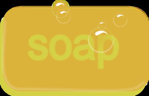 500x322 Bar Of Yellow Soap Vector Image Public Domain Vectors