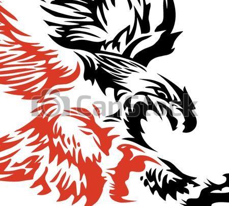 450x404 Vectors Illustration Of Soaring Eagle