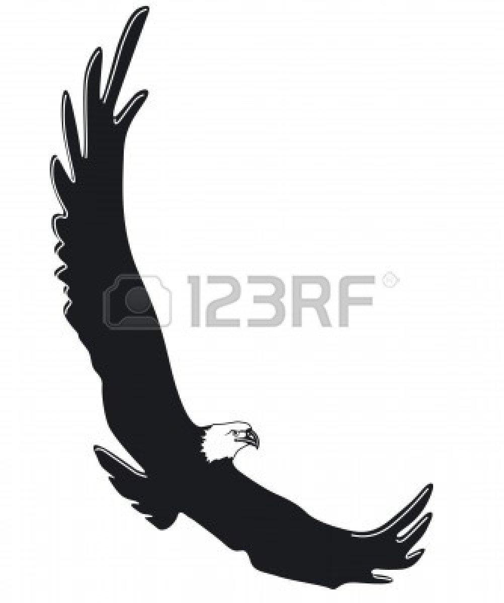 1002x1200 Black Eagle Clipart Soaring Eagle