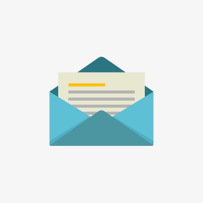 650x651 Vector Sobre Azul Carta Correo Archivo Png Y Vector Para Descargar