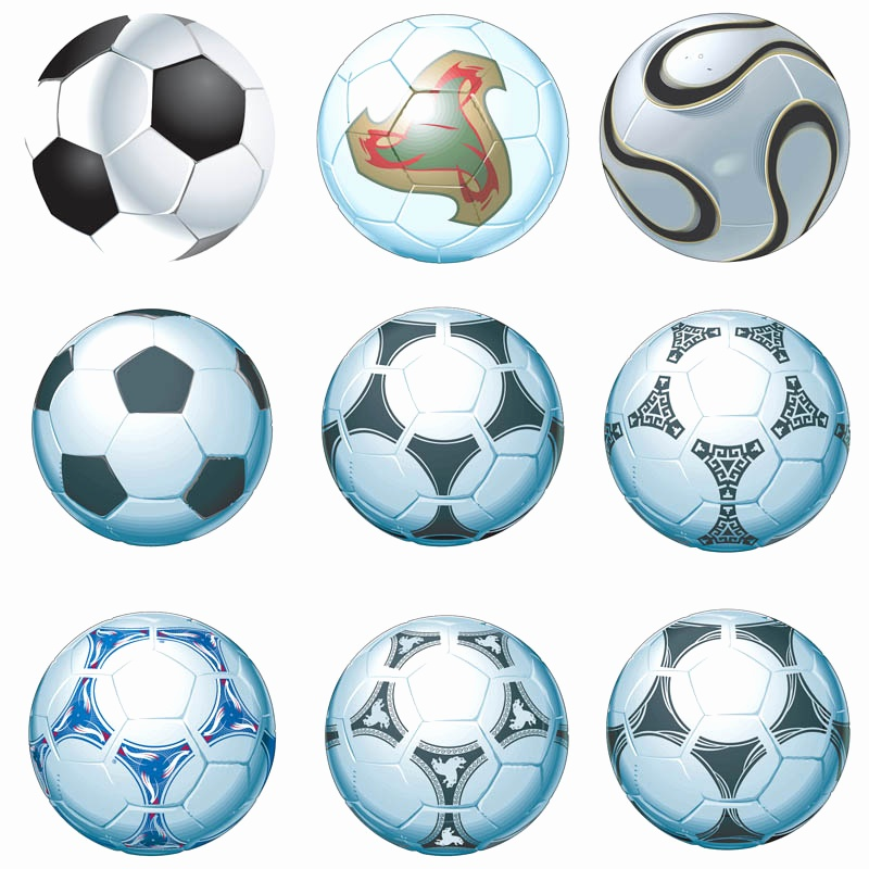 800x800 Soccer Ball Pattern Cut Out Elegant Soccer Ball Vector Group 63