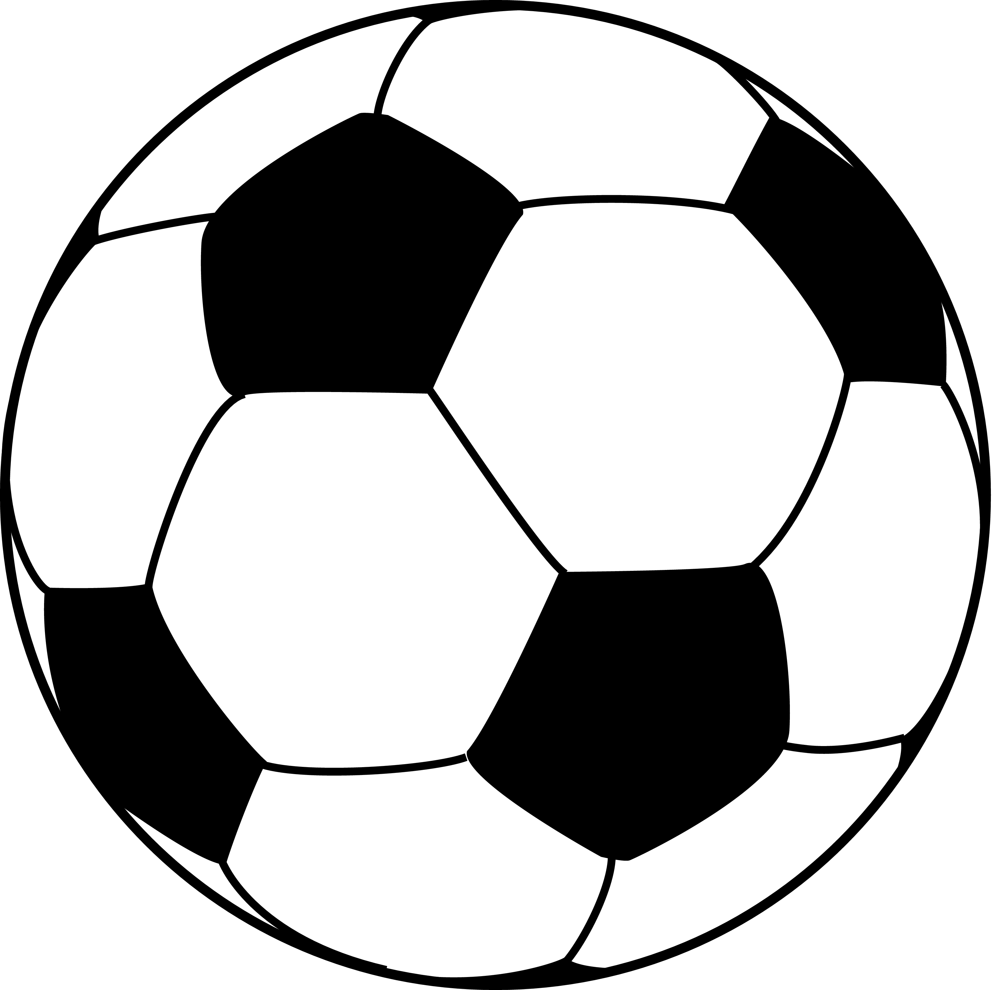 3300x3283 Soccer Ball Pattern Template Soccer Ball Pattern Vector Cricut