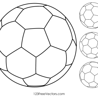 Soccer Ball Vector Art