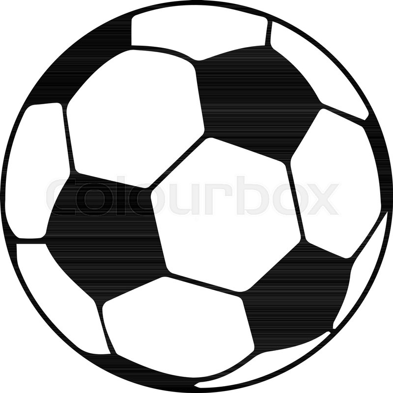 800x800 Soccer Ball Icon. Simple Illustration Of Soccer Ball Vector Icon