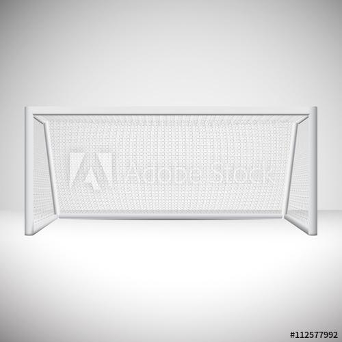 500x500 Isolated Soccer Goal Vector Design