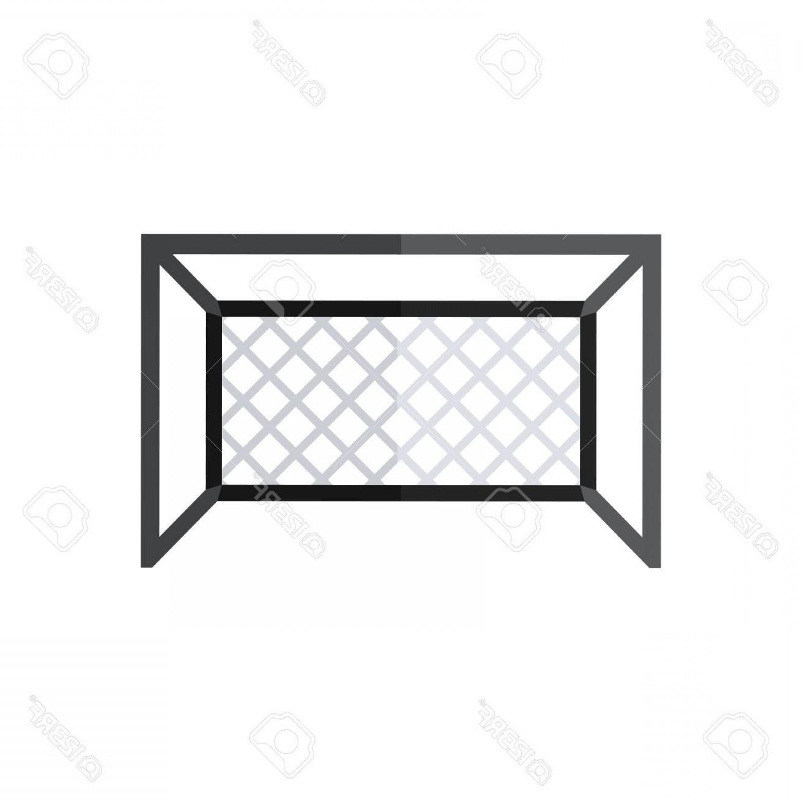 1560x1560 Photostock Vector Football Goal Silhouette Vector Soccer Goal Icon