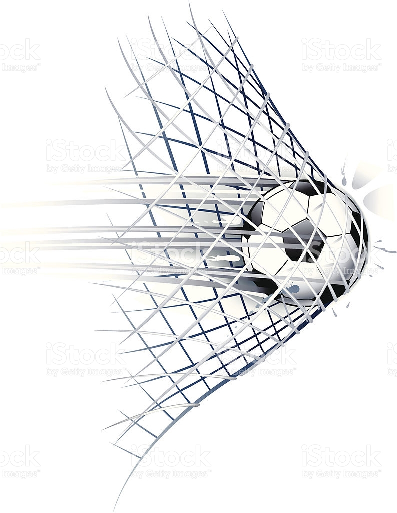 793x1024 Soccer Goal Drawing Drawn Of Vector Soccer Ball Goal Illustrations