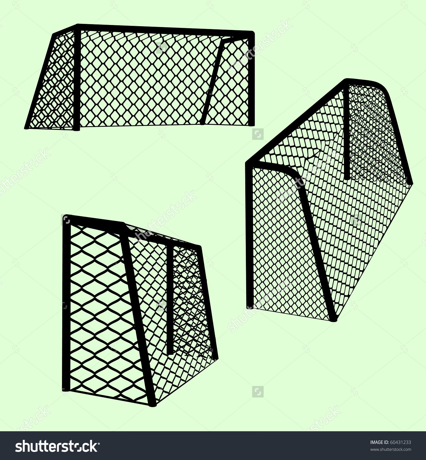 1485x1600 Collection Of Soccer Goal Side View Drawing High Quality