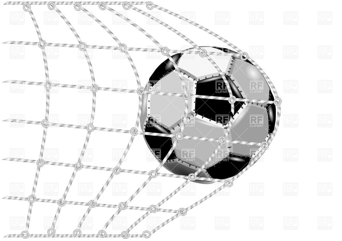 1200x846 Soccer Ball In The Net Gate