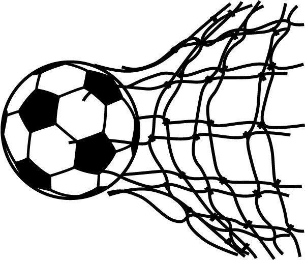600x511 Soccer Clipart Vector Art