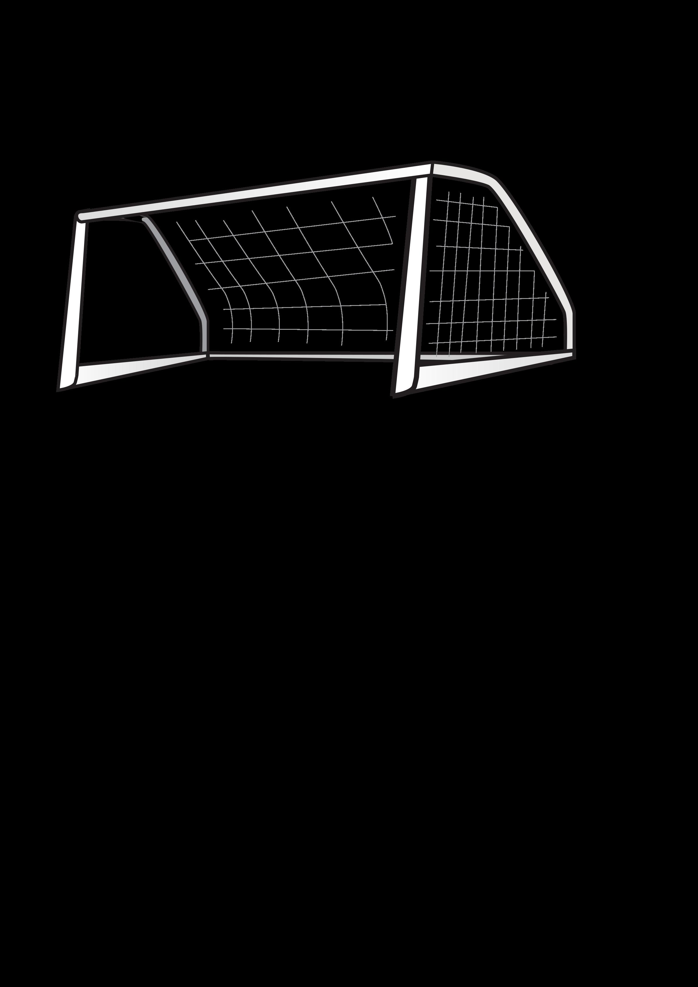 Soccer Net Vector