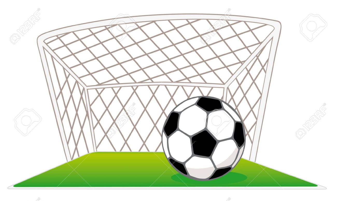 1300x779 Soccer Ball And Goal Clipart Amp Soccer Ball And Goal Clip Art