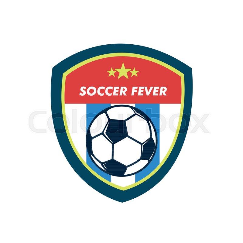 800x800 Soccer Fever Simple Vintage Shield Footbal Club Emblem Vector