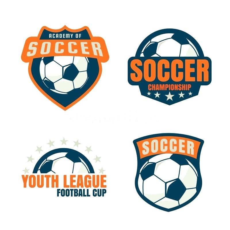 800x800 Soccer Football Vector Badges Logos T Shirt Design Templates Crest