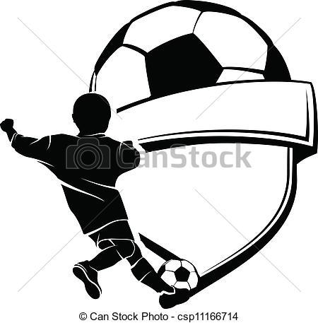450x457 Soccer Clipart Vector Art