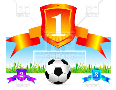 400x309 Soccer Shield Background Vector Image Vector Artwork Of Sport