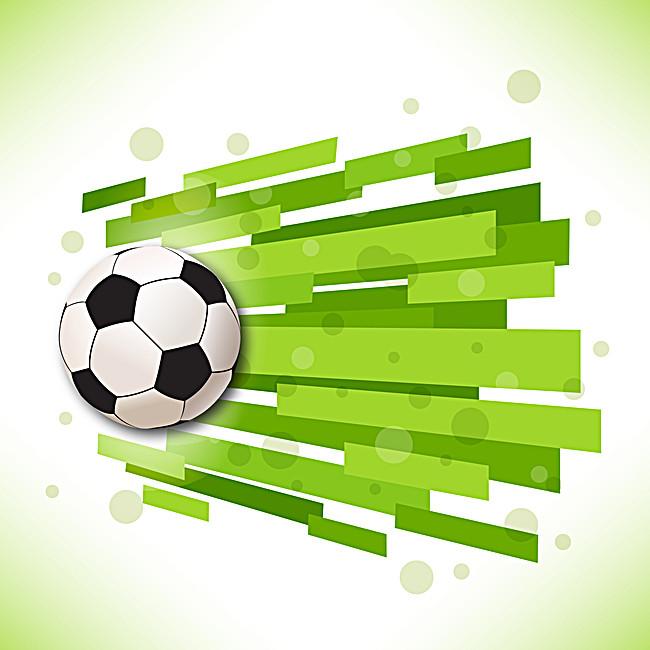 650x650 Creative Soccer Vector Background, Creative, Football, Green