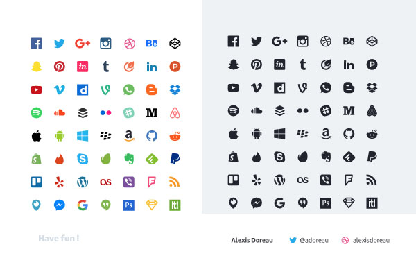 600x382 Best Free Social Media Icons In Psd And Vector