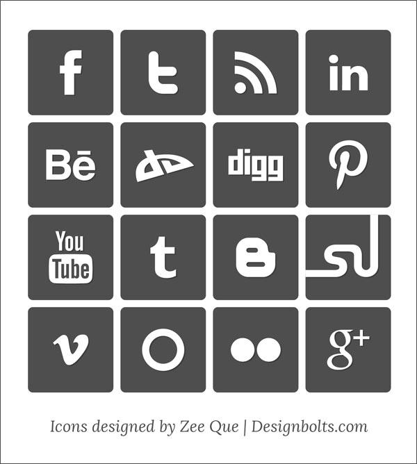 600x668 Social Media Vector
