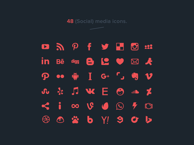 400x300 Best Social Media Icon Sets For Free Download (Updated For