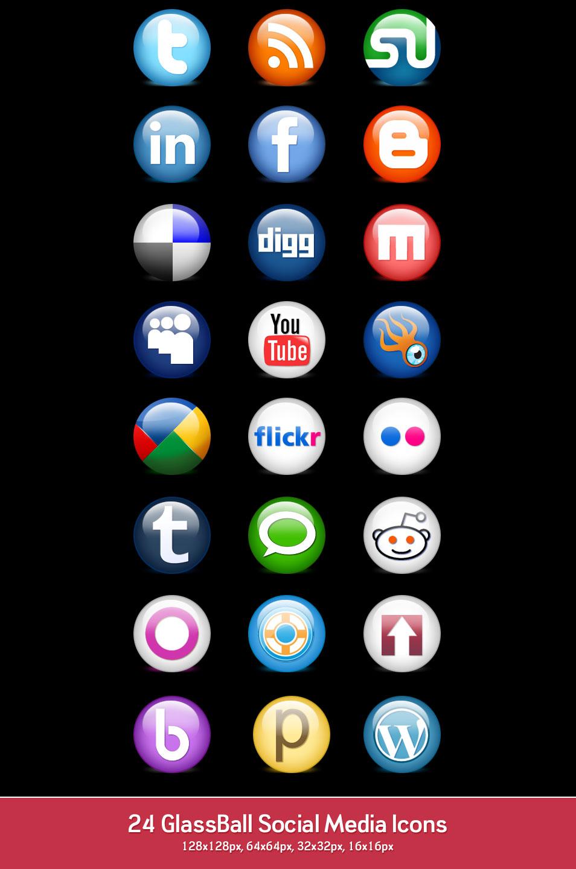 954x1440 Best Free Social Media Icon Sets Free Icon Sets