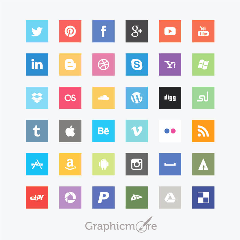 800x800 15 Best Social Media Icons Vectors Amp Psd Free Download
